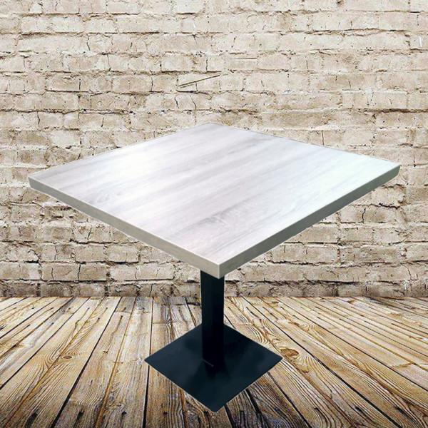 Стіл на одній опорі Крістал у стилі Лофт
