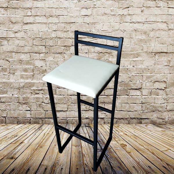 Барний стілець Техно з м`яким сидінням у стилі Лофт