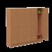 Колір ЛДСП: БукКількість секцій: 5 секцій (1526х300х1400 мм)