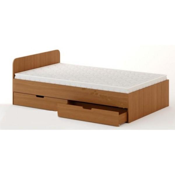 Ліжко одномісне з ящиками