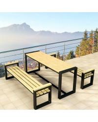 Садові меблі у стилі Лофт